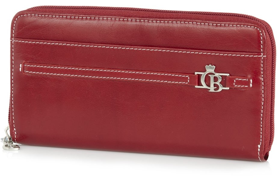 Castelijn & Beerens Furore Zipper Wallet Red