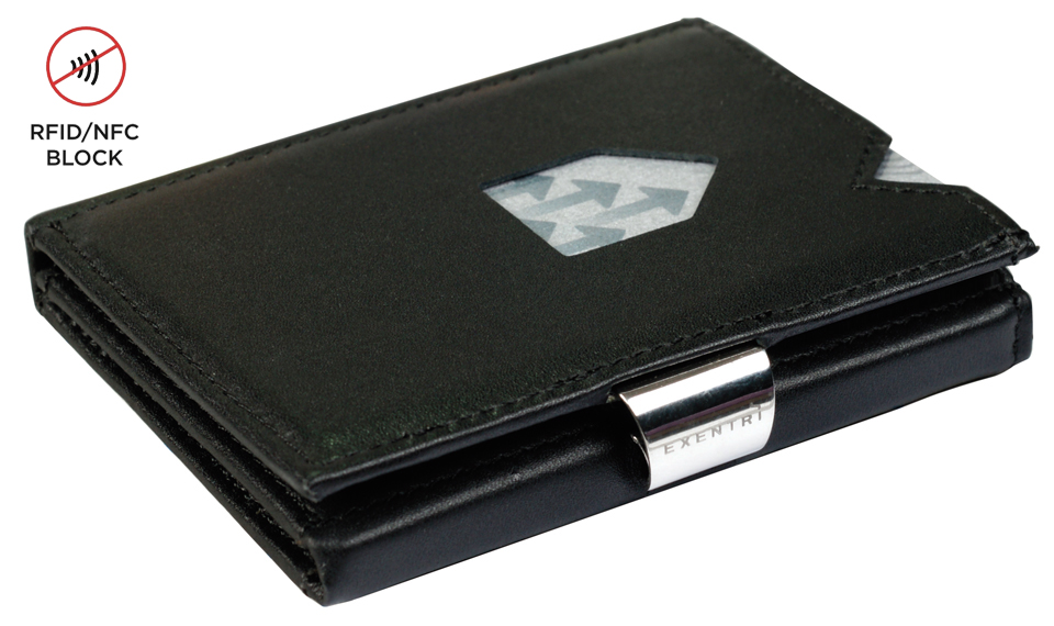 Exentri Wallet RFID Black