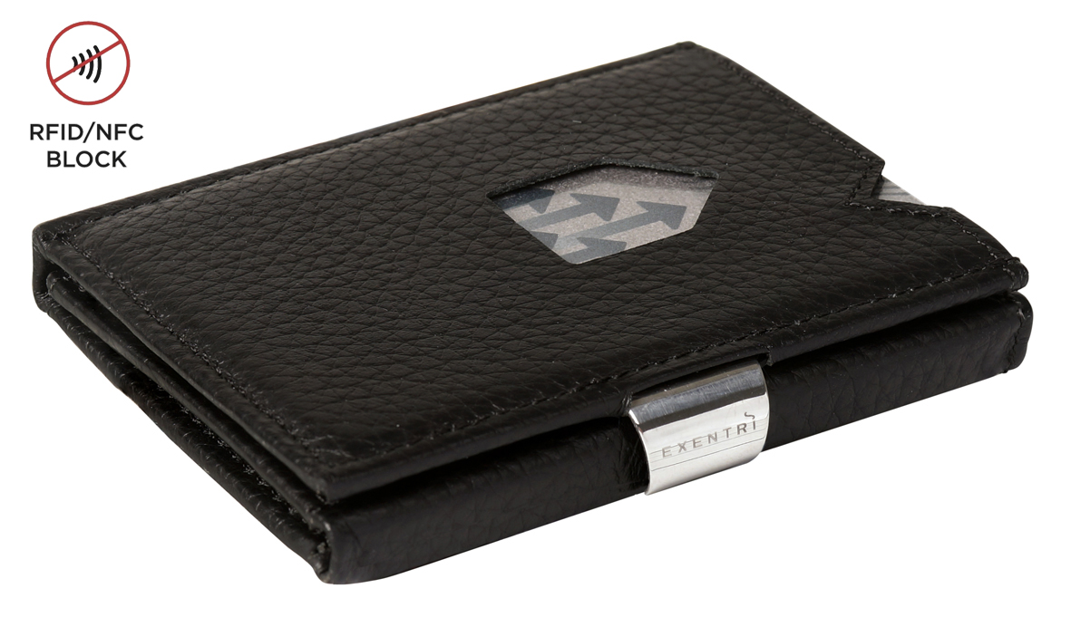 Exentri Wallet RFID Black Structure