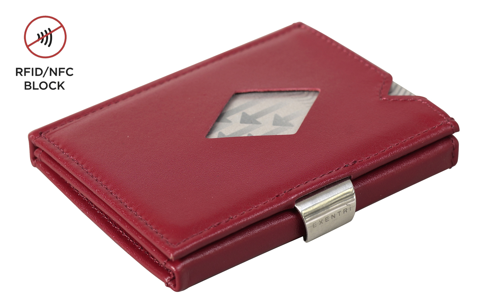 Exentri Wallet RFID Red