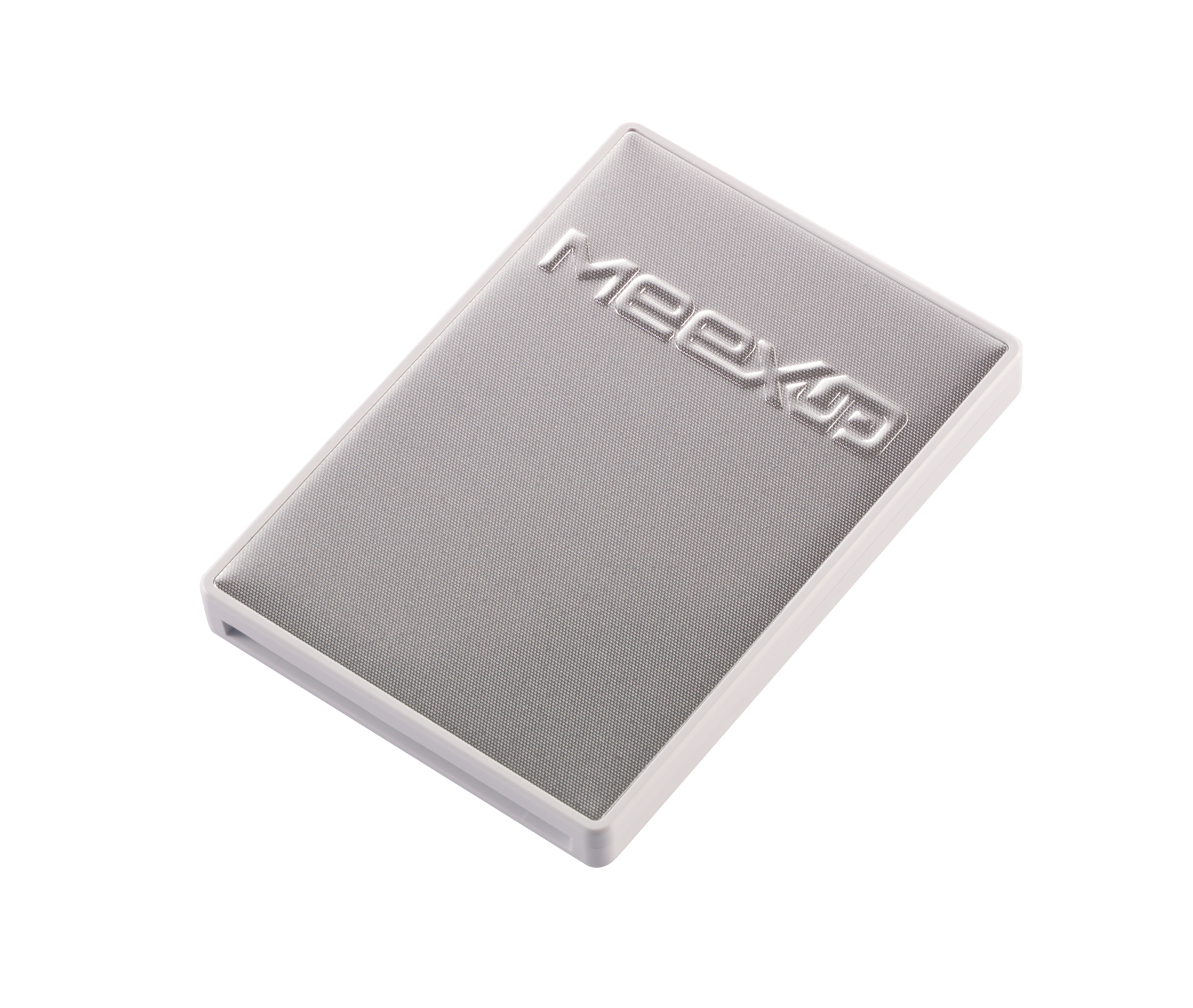 MeexUp cardholder 4 Cards White-Silver