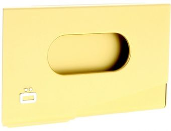 Ogon Business Card Holder ONE TOUCH Gold