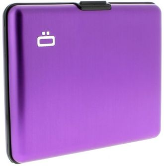 Ögon Card Case Large Purple