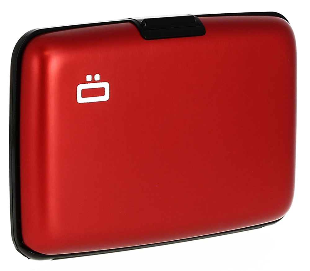 Ögon Card Case Red