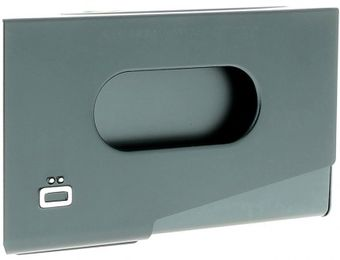 Ögon Business card holder ONE TOUCH Platinum