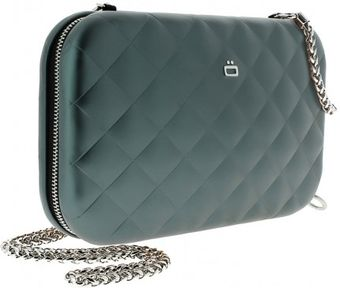 Ögon Quilted Lady Bag Platinum