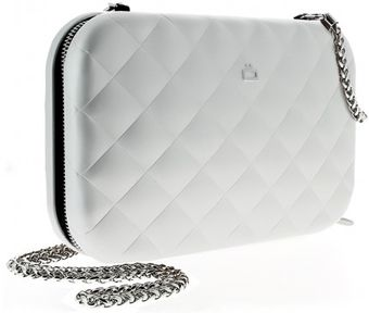 Ögon Quilted Lady Bag Silver