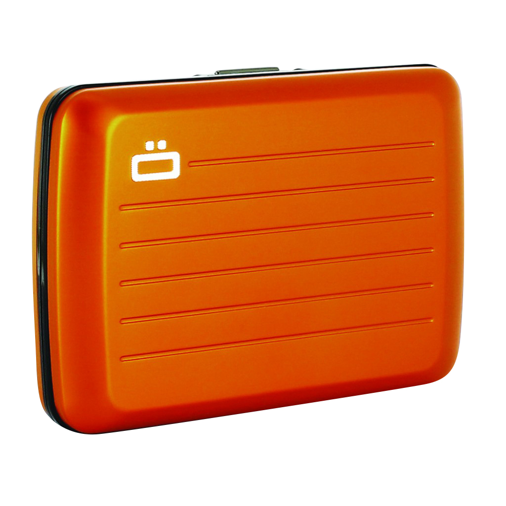 Ögon Stockholm V2.0 Card Case Orange