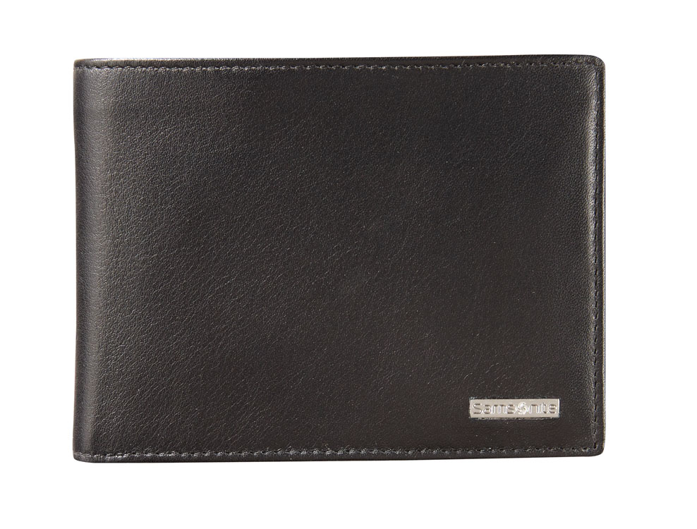 Samsonite S Derry RFID Billfold 6 Cards 1 Window Black