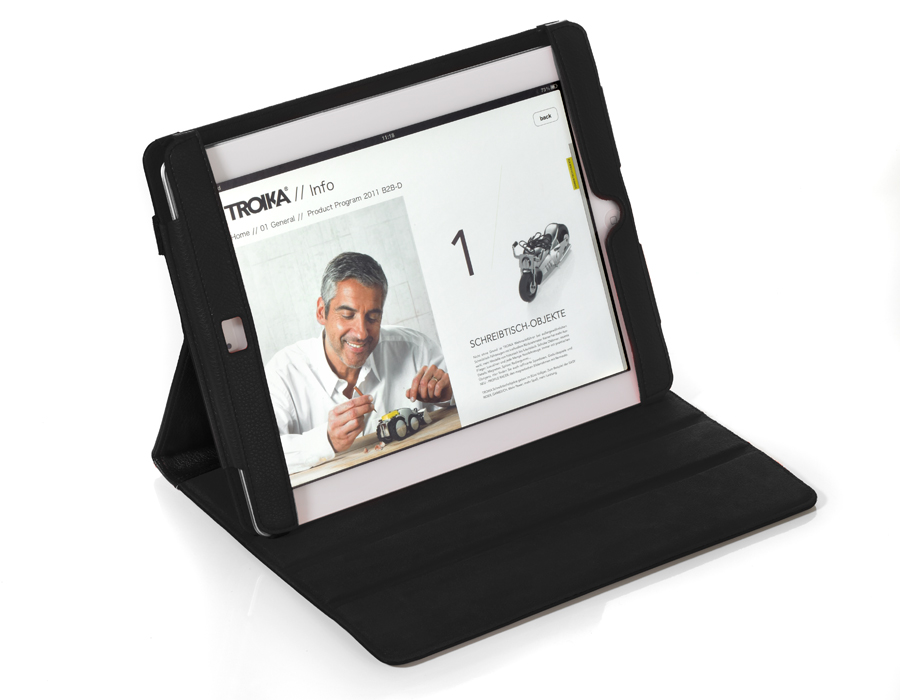 Troika iPad Case MIDNIGHT